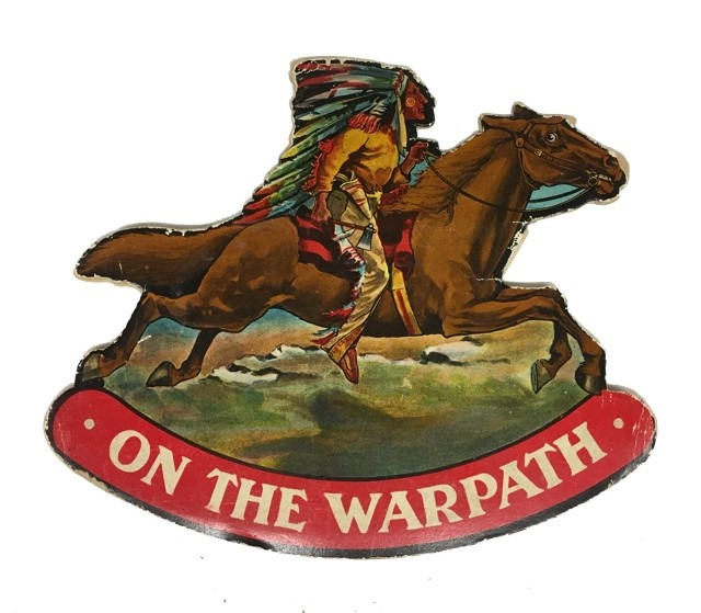On the Warpath. Valentine, Ltd Sons, publisher.