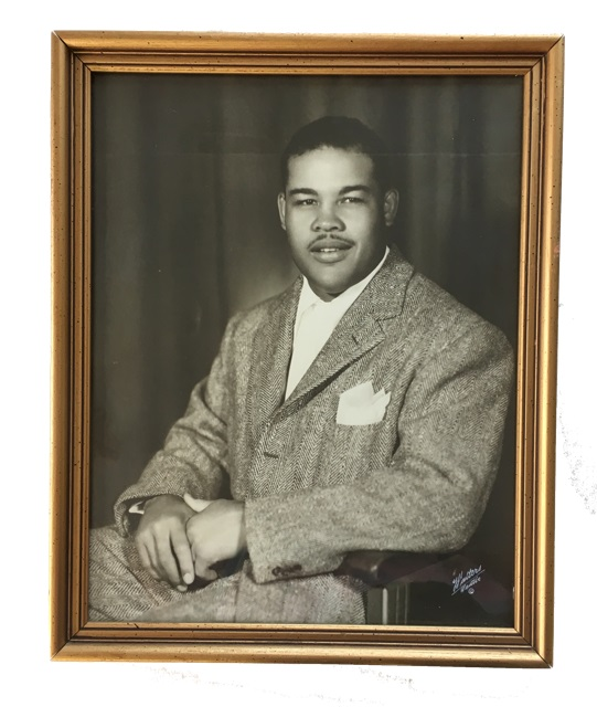 Photograph. Joe Louis.