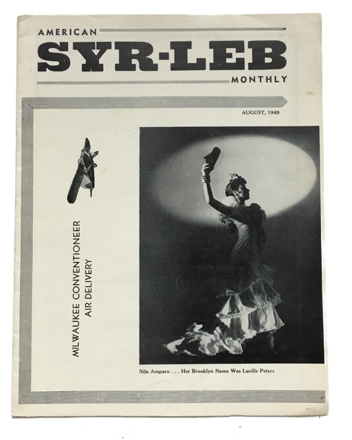 American Syr-Leb Monthly, Volume 1, Number 4 (August, 1949). Al Bryan.