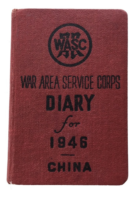 Diary for 1946. China. [cover title]