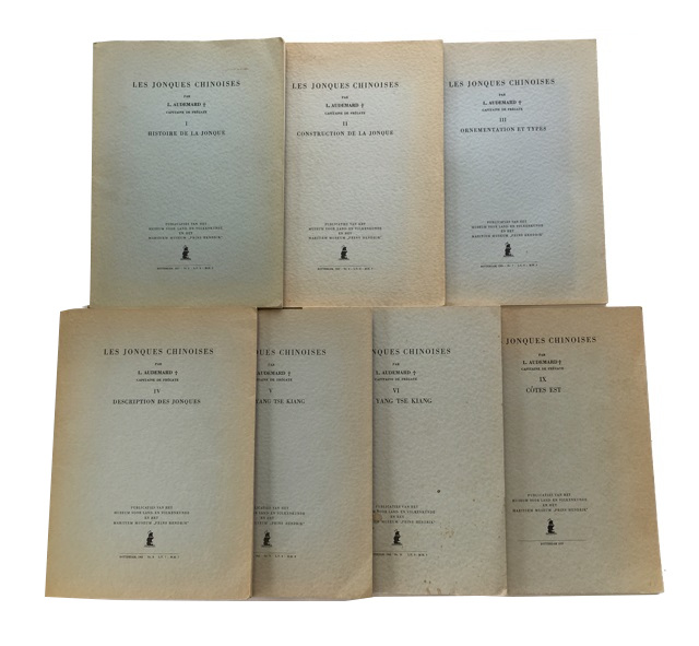 Les Jonques Chinoises [Parts I-VI and IX only of 9 parts numbered I-VI, VII/VIII, IX and X]. Louis Audemard.