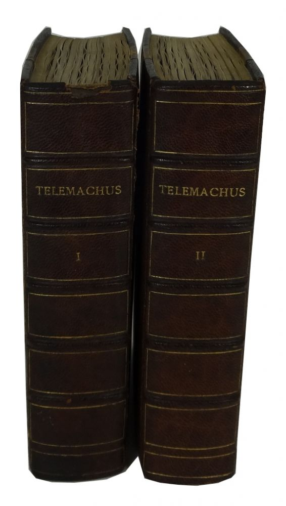 The Adventures of Telemachus, the Son of Ulysses. Translated from the French by Edwin W. Simcox. Fenelon, Francois de Salignac de la Mothe.