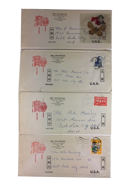 "Four Printed Fundraising Letters for his ""Operation ""Kunag Jen"" of Kuang Jen School in Taipei, Formosa. Rev. Ivo Stuyck."