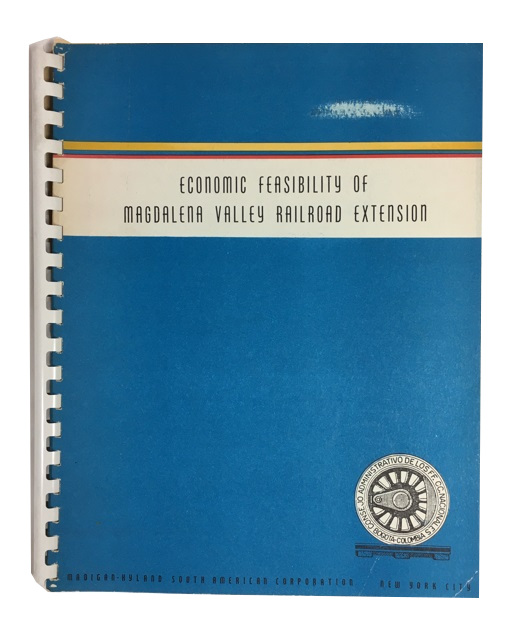 Economic Feasibilty of Magdalena Valley Railroad Extension