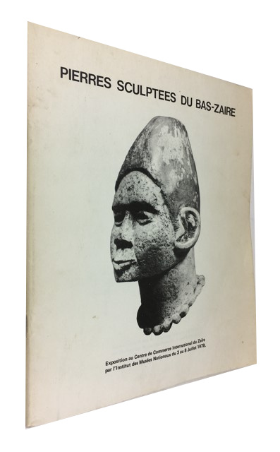 Pierres Sculptees du Bas-Zaire. Joseph Cornet, author of the Introducyion at pp.