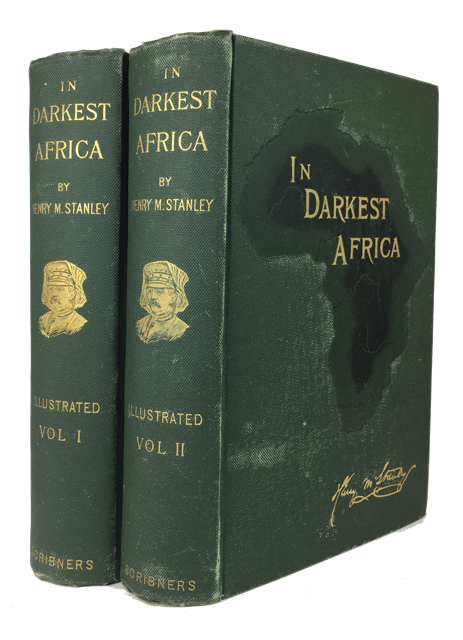 In Darkest Africa or the Quest, Rescue, and Retreat of Emin, Governor of Equatoria. Henry M. Stanley.
