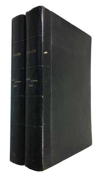 Images. Two large Bound volumes for 1946 and 1948