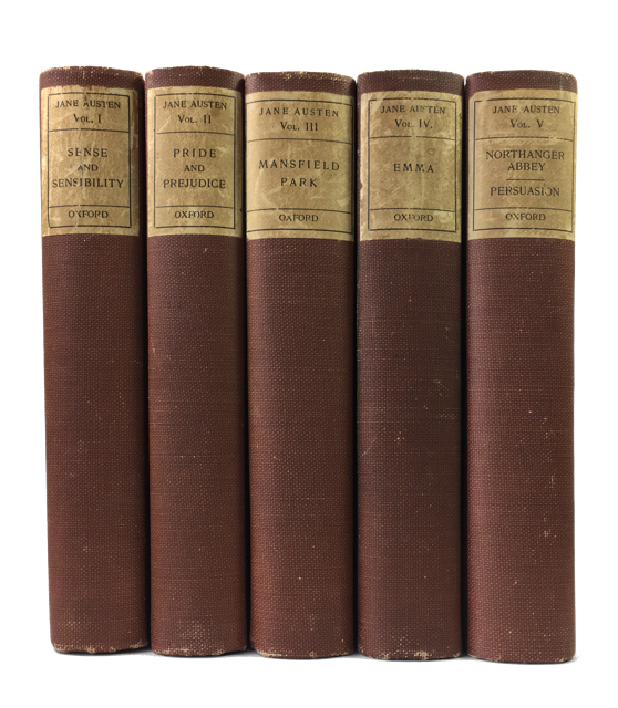 The Novels of Jane Austen: The Text Based on Collation of the Early Editions by R. W. Chapman. Jane Austen.
