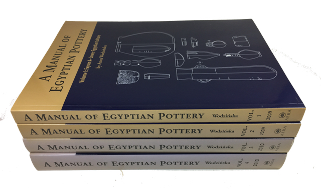 A Manual of Egyptian Pottery. Anna Wodzinska.