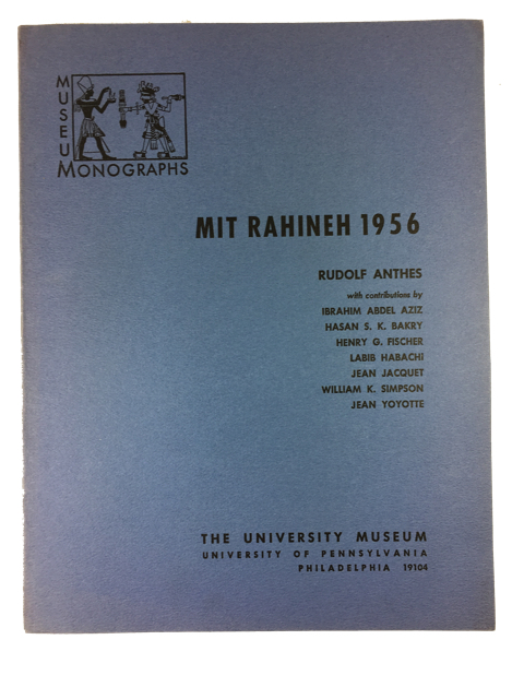 Mit Rahineh 1956. Rudolf Anthes.