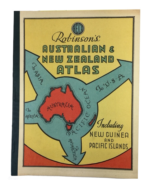 Robinson's Australian & New Zealand atlas, including New Guinea and Pacific Islands