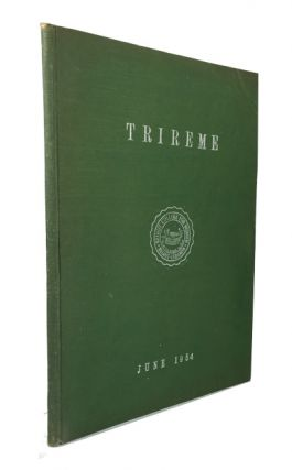 Trireme, June, 1954. Beirut College for Women