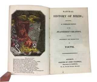 Natural History of Birds; Containing a Familiar Survey of Feathered Creation, for the Amusement...