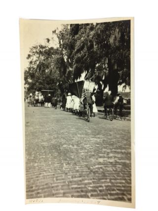 Negro Parade Jan. 1, 1919 Clearwater, Fla. Celebrating Anniversary Signing Emancipation...