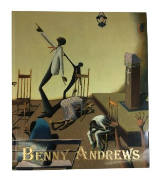 "A.F.T.U./Bill Hodges Gallery Presents Selections from `The Revival Series"" by Benny Andrews. Exhibition Dates April 13-June 17, 1995. Benny Andrews."