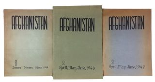 Afghanistan. Three issues: Vol. 1, No. 2 (April-June, 1946) and Vol. 2, Nos. 1 & 2 (Jan-March &...