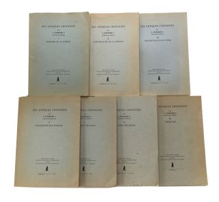 Les Jonques Chinoises [Parts I-VI and IX only of 9 parts numbered I-VI, VII/VIII, IX and X]....