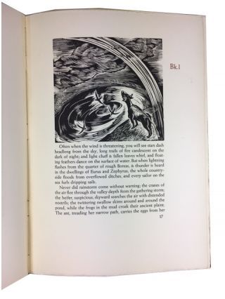 The Georgics of Virgil. English Version and Woodcuts by Elfriede Abbe