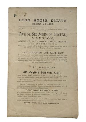Doon House Estate. Westgate-on-Sea