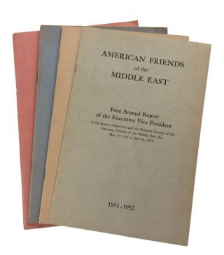 Four Anuual Reports: First (1951-1952); Second (1952-1953); Third (1953-1954); and Fifth...