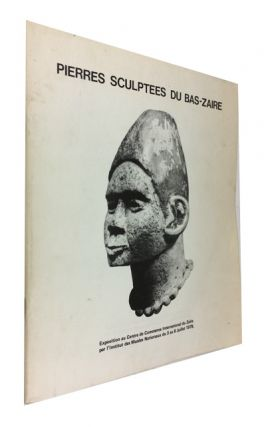 Pierres Sculptees du Bas-Zaire. Joseph Cornet, author of the Introducyion at pp