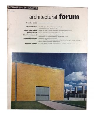 The Architectural Forum, Volume 101, Number 5 (November, 1954