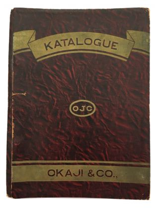 Katalogue. (cover title). Okaji, Co.