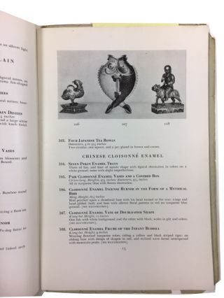 Chinese and Japanese Works of Art: Jade Carvings, Imperial Cloisonne, Bronze, Pottery, Porcelain, Texiles, Screens from Sung to Ch'ien-Lung. Eighteen Early Studies and Paintings by Eastman Johnson: Paintings of American and European Schools. English and Continental Furniture and Decorations ....