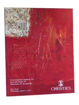 Contemporary Japanese Art from the Estate of Blanchette H. Rockefeller. Christie's