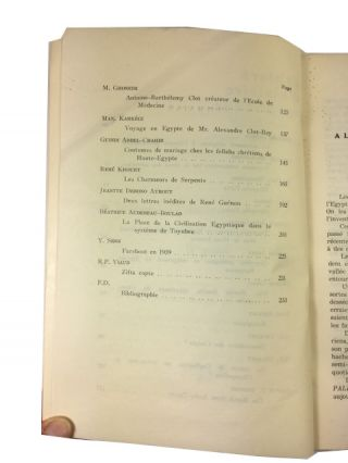 Cahiers d'Histoire Egyptienne: Histoire - Ethnographie - Documents. = Egyptian History Papaers, Volume XI (1969)