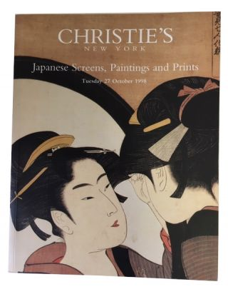 Japanese Screens, Paintings and Prints. Christie's New York