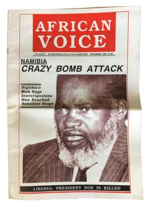 The African Voice. Vol. 2 No. 8 (September 1990